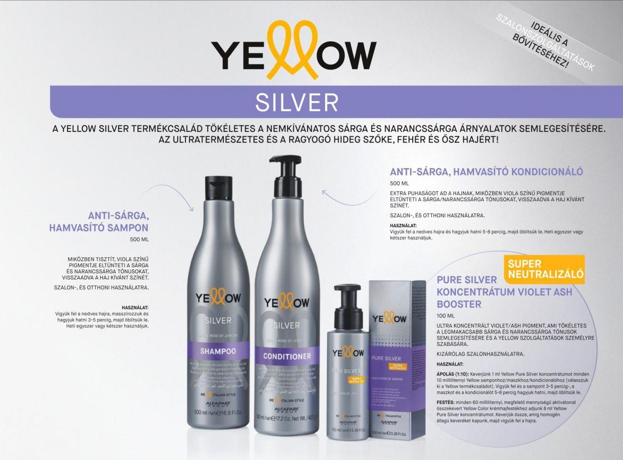 Silver Hamvasító Sampon 500ml